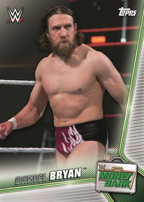 2019 Topps WWE Money in the Bank Wrestling Cards 3