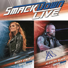 2019 Topps WWE Smackdown Live Wrestling Cards