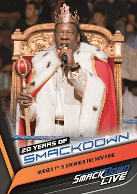 2019 Topps WWE Smackdown Live Wrestling Cards 4