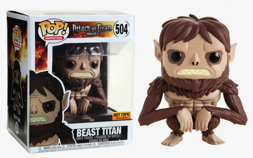 Ultimate Funko Pop Attack on Titan Figures Checklist and Gallery 22
