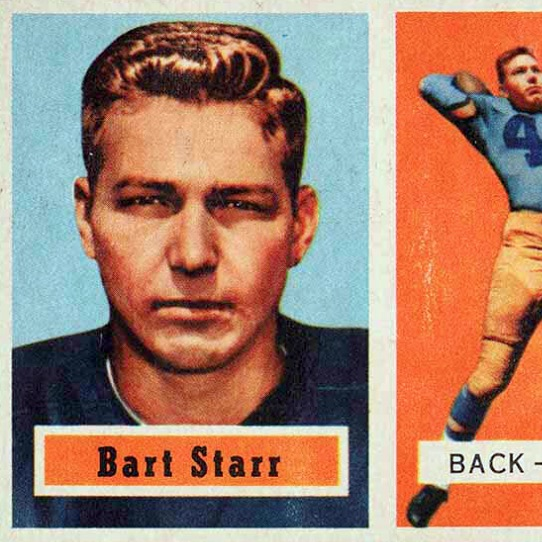 Top Bart Starr Football Cards Best Vintage Rookie Cards