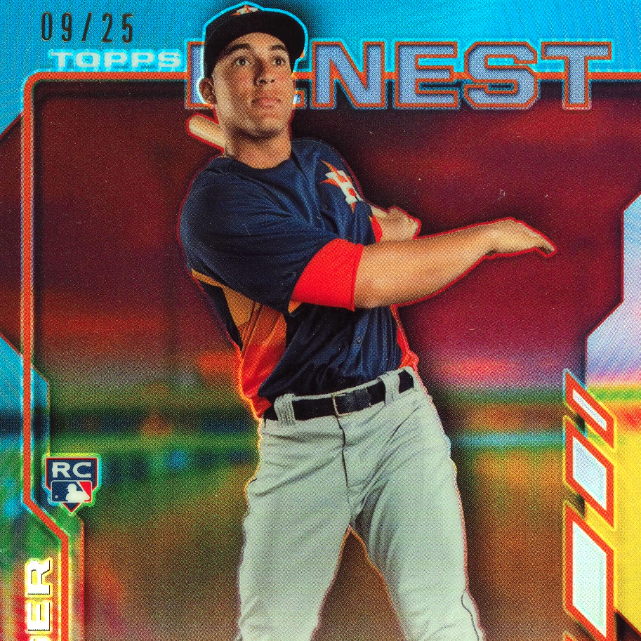 the latest eb4d6 525ae George Springer Rookie Cards Checklist, Gallery, Top ...