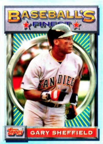 Top 10 Gary Sheffield Baseball Cards 7