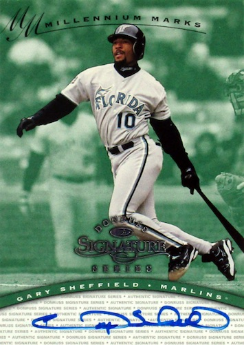Top 10 Gary Sheffield Baseball Cards 9