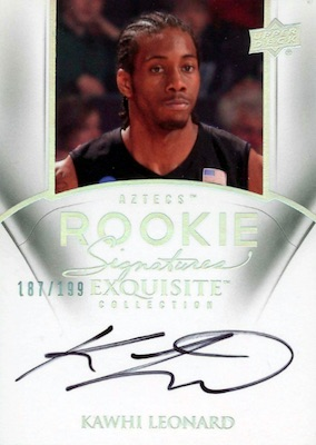 Top Kawhi Leonard Rookie Cards to Collect 11