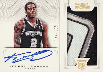 Top Kawhi Leonard Rookie Cards to Collect 14