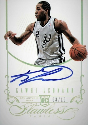 Top Kawhi Leonard Rookie Cards to Collect 13