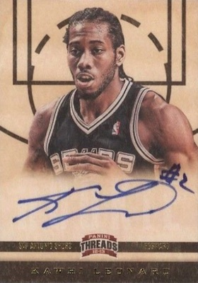 Top Kawhi Leonard Rookie Cards to Collect 2