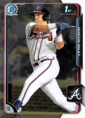 Top Austin Riley Rookie Cards and Prospects 3