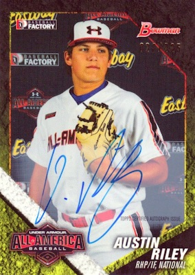 Top Austin Riley Rookie Cards and Prospects 5