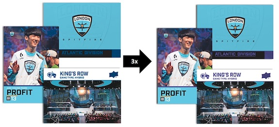 2017-18 Upper Deck Overwatch League Inaugural Trading Cards 2