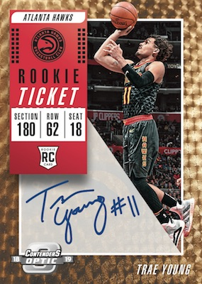 2018-19 Panini Contenders Optic Basketball Cards 4