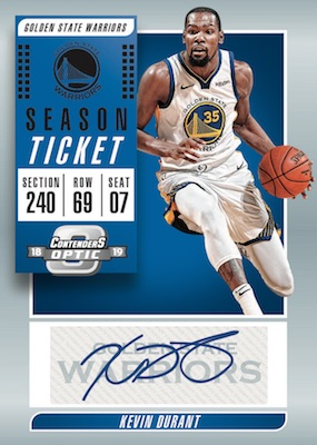 2018-19 Panini Contenders Optic Basketball Cards 5
