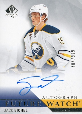 2018-19 SP Authentic Hockey Cards - Checklist Added 34