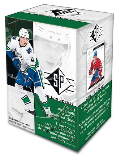 2018-19 SP Hockey Cards 1
