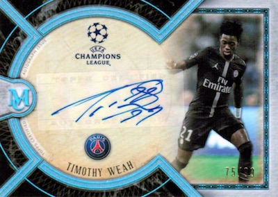 2018-19 Topps Museum Collection UEFA Champions League Soccer Cards 4
