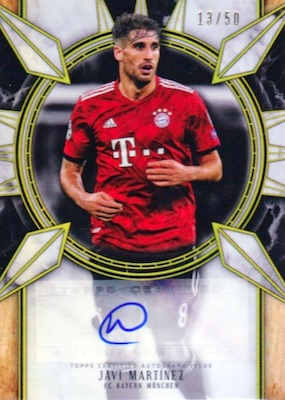 2018-19 Topps Museum Collection UEFA Champions League Soccer Cards 29