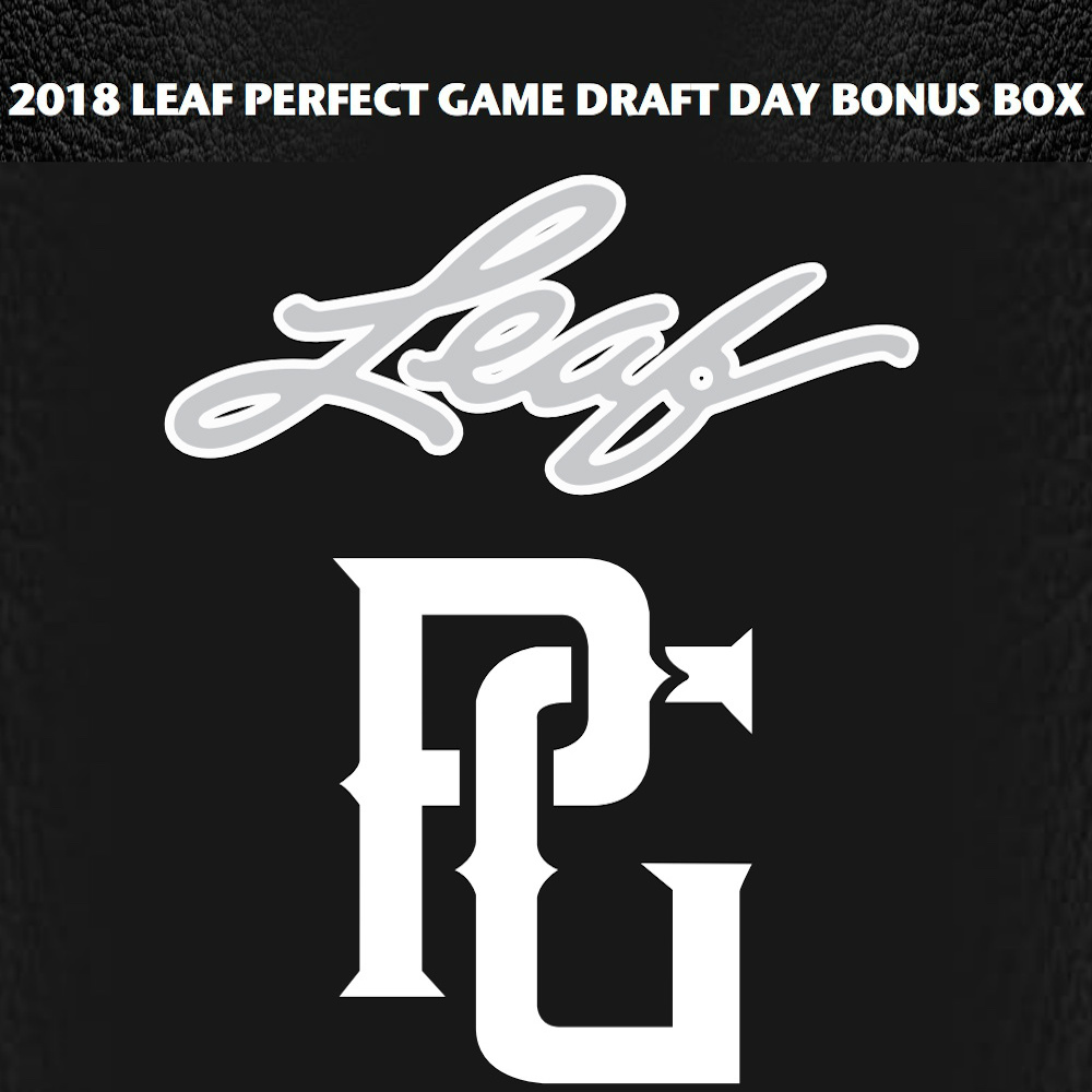 2018 Leaf Perfect Game Draft Day Bonus Box Checklist, Info