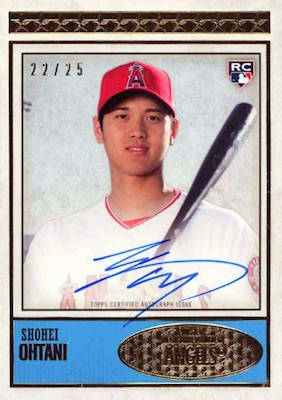 Shohei Ohtani Rookie Cards Checklist and Gallery 45