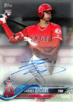 Shohei Ohtani Rookie Cards Checklist and Gallery 47