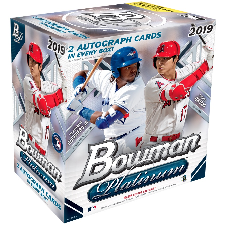 2019 Bowman Platinum Baseball Cards Nbcd Hanger