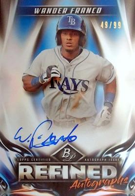2019 Bowman Platinum Baseball Cards - NBCD Hanger 6