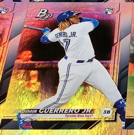 2019 Bowman Platinum Baseball Cards - NBCD Hanger 4