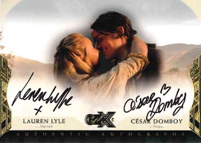 2019 Cryptozoic CZX Outlander Trading Cards 29