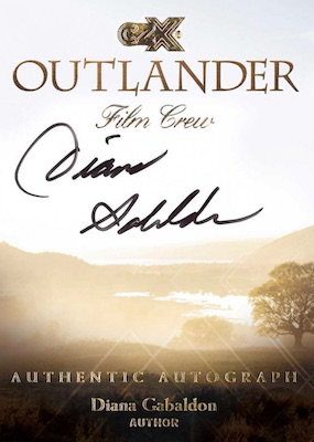 2019 Cryptozoic CZX Outlander Trading Cards 3