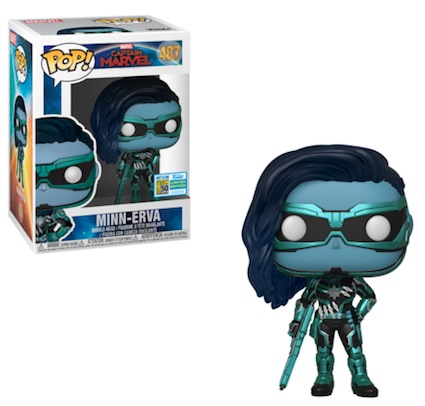 Funko Pop Captain Marvel Movie Figures 24