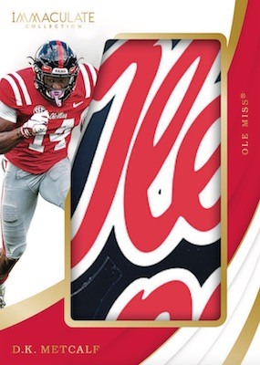 2019 Immaculate Collection Collegiate Football Cards 8