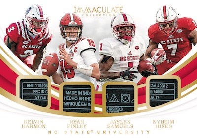 2019 Immaculate Collection Collegiate Football Cards 9