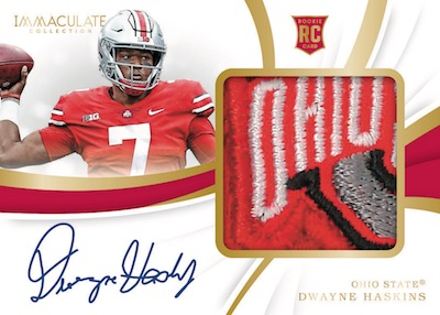 2019 Immaculate Collection Collegiate Football Cards 3