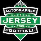 2019 Leaf Autographed Football Jersey Edition
