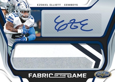 2019 Panini Certified Football Cards - Checklist Added 6