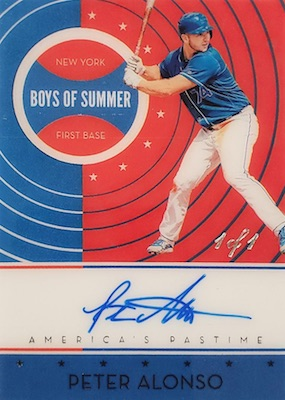 ROY! Pete Alonso Rookie Cards Guide and Top Prospects List 7