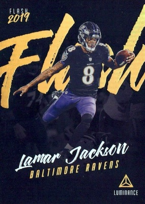 2019 Panini Luminance Football Cards 35