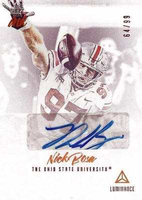 2019 Panini Luminance Football Cards 29