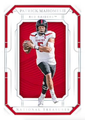 2019 Panini National Treasures Collegiate Football Cards 3