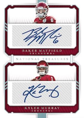 2019 Panini National Treasures Collegiate Football Cards 6