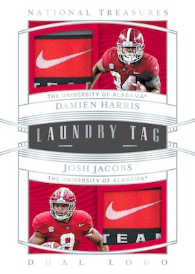 2019 Panini National Treasures Collegiate Football Cards 8