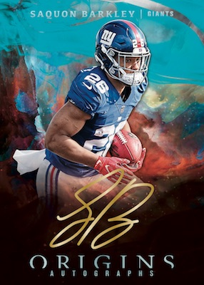 2019 Panini Origins Football Cards 4