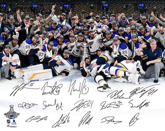 2019 St. Louis Blues Stanley Cup Champions Memorabilia Guide 7