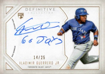Top Vladimir Guerrero Jr. Rookie Cards and Prospects 13