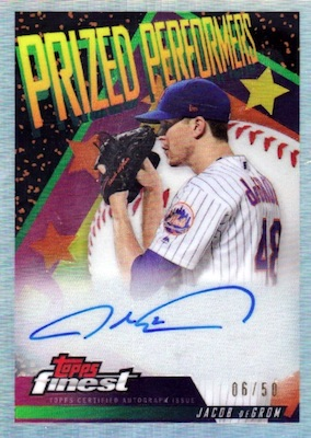 2019 Topps Finest Baseball Cards - Mystery Redemptions 30