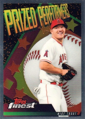 2019 Topps Finest Baseball Cards Mystery Redemptions
