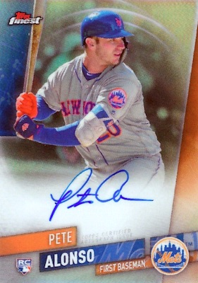 Pete Alonso Rookie Cards Guide and Top Prospects List 6