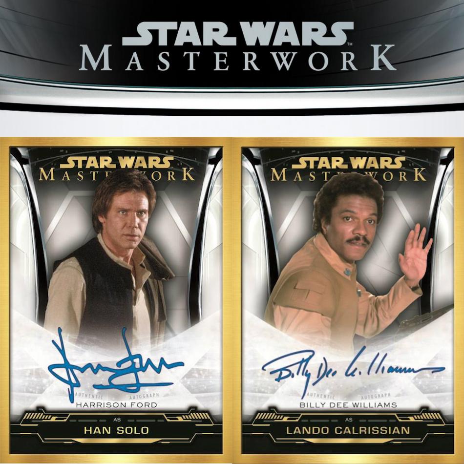 Star Wars Masterwork 2019 Blue Base Card #41 Poe Dameron