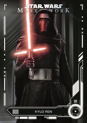 Star Wars Masterwork 2018 Base Card 9 Yoda
