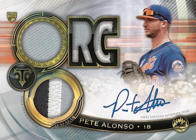2019 Topps Triple Threads Baseball Cards 4